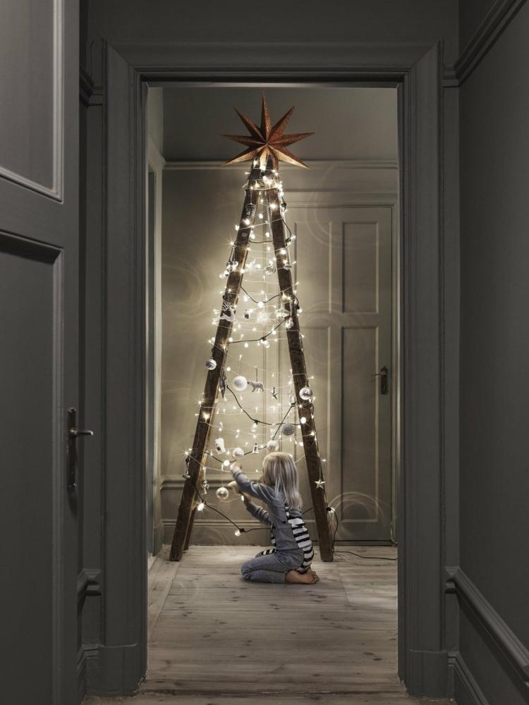 Διακοσμήστε μια σκάλα για τα Χριστούγεννα3