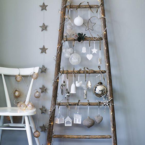 Διακοσμήστε μια σκάλα για τα Χριστούγεννα30