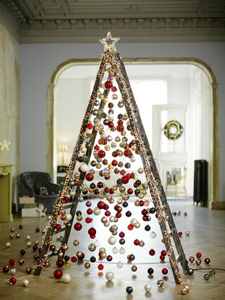 Διακοσμήστε μια σκάλα για τα Χριστούγεννα5