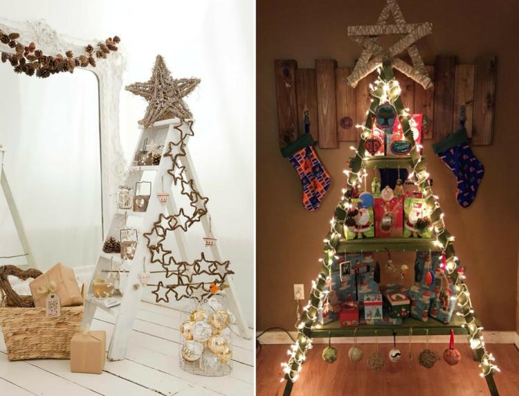 Διακοσμήστε μια σκάλα για τα Χριστούγεννα7
