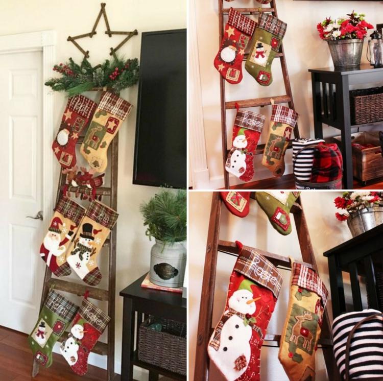 Διακοσμήστε μια σκάλα για τα Χριστούγεννα8