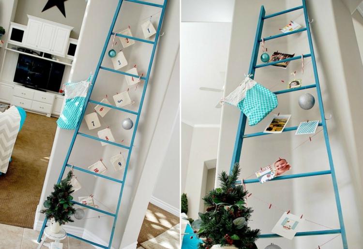 Διακοσμήστε μια σκάλα για τα Χριστούγεννα9