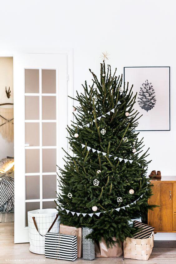 Σκανδιναβικό Χριστουγεννιάτικο δέντρο6