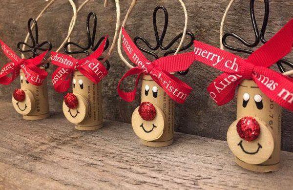 Χριστουγεννιάτικες διακοσμήσεις από πώματα φελλού23
