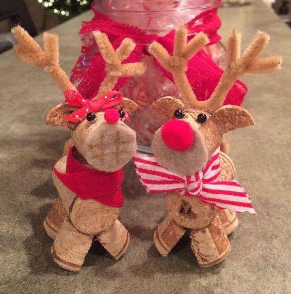 Χριστουγεννιάτικες διακοσμήσεις από πώματα φελλού25