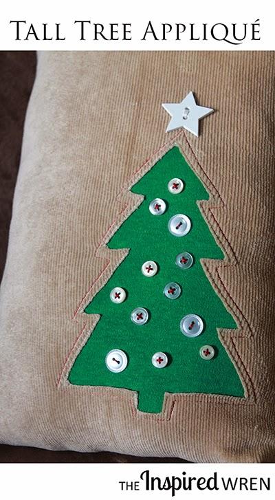 DIY κατασκευές από κουμπιά για τα Χριστούγεννα11