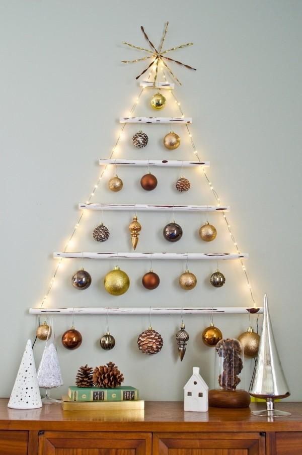 DIY χριστουγεννιάτικα δέντρα1