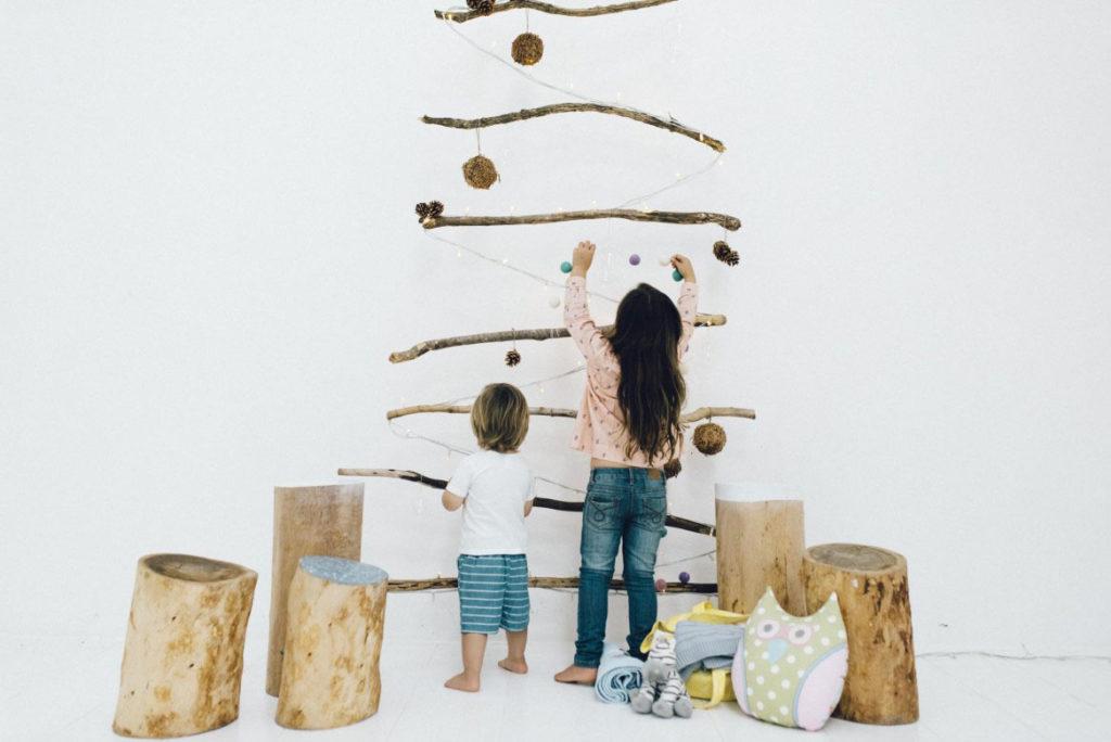 DIY χριστουγεννιάτικα δέντρα10
