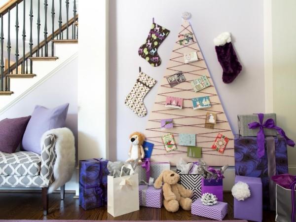 DIY χριστουγεννιάτικα δέντρα12