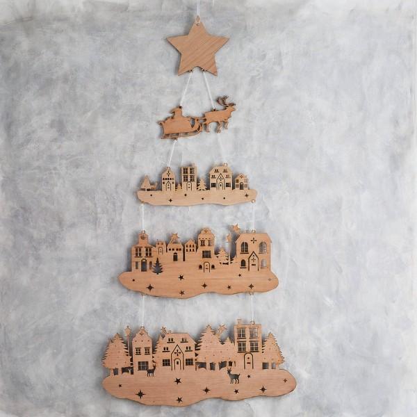DIY χριστουγεννιάτικα δέντρα14