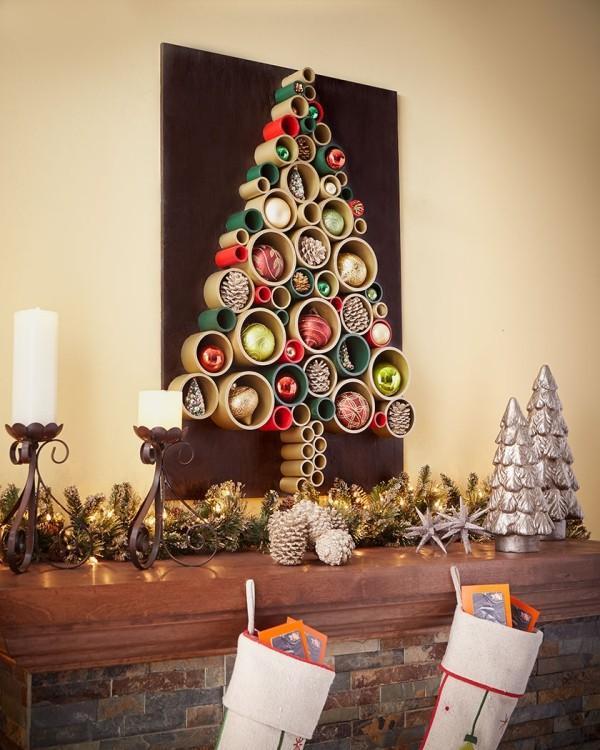 DIY χριστουγεννιάτικα δέντρα17