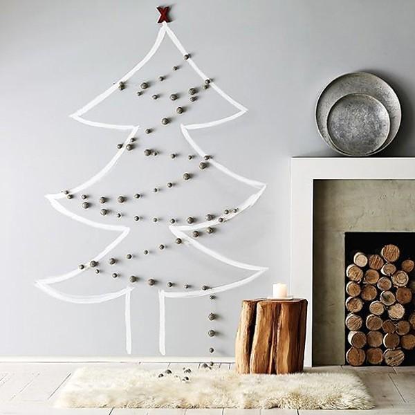 DIY χριστουγεννιάτικα δέντρα18