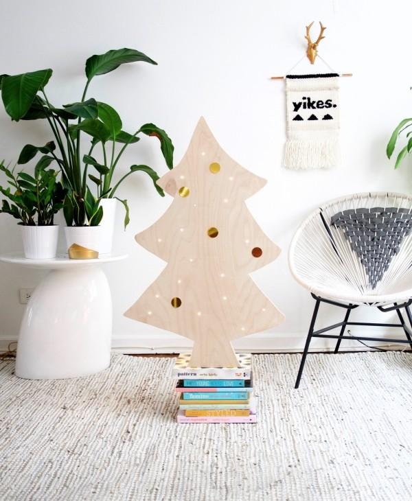DIY χριστουγεννιάτικα δέντρα20
