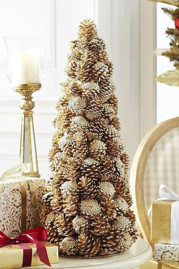DIY χριστουγεννιάτικα δέντρα27