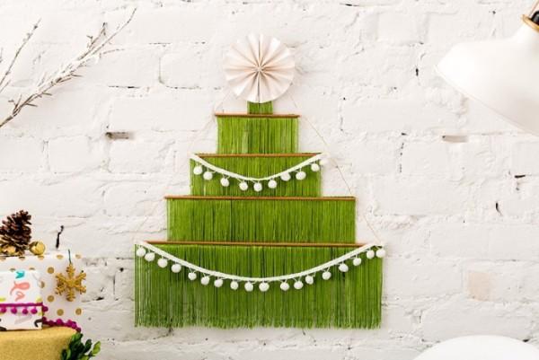 DIY χριστουγεννιάτικα δέντρα9