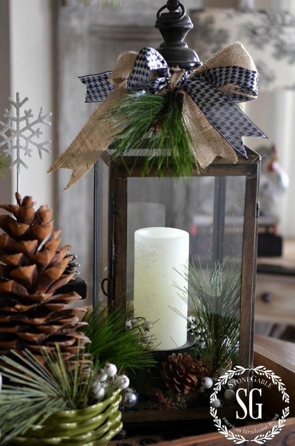 Rustic χωριάτικη Χριστουγεννιάτικη διακόσμηση11