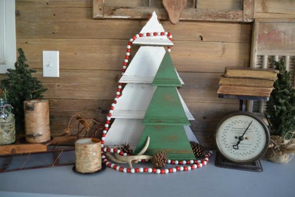 Rustic χωριάτικη Χριστουγεννιάτικη διακόσμηση19
