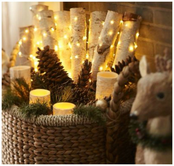 Rustic χωριάτικη Χριστουγεννιάτικη διακόσμηση21