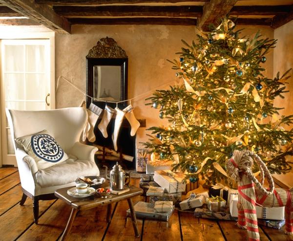 Rustic χωριάτικη Χριστουγεννιάτικη διακόσμηση22
