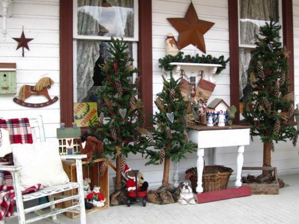 Rustic χωριάτικη Χριστουγεννιάτικη διακόσμηση29