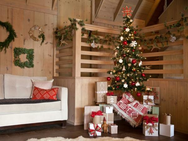 Rustic χωριάτικη Χριστουγεννιάτικη διακόσμηση33