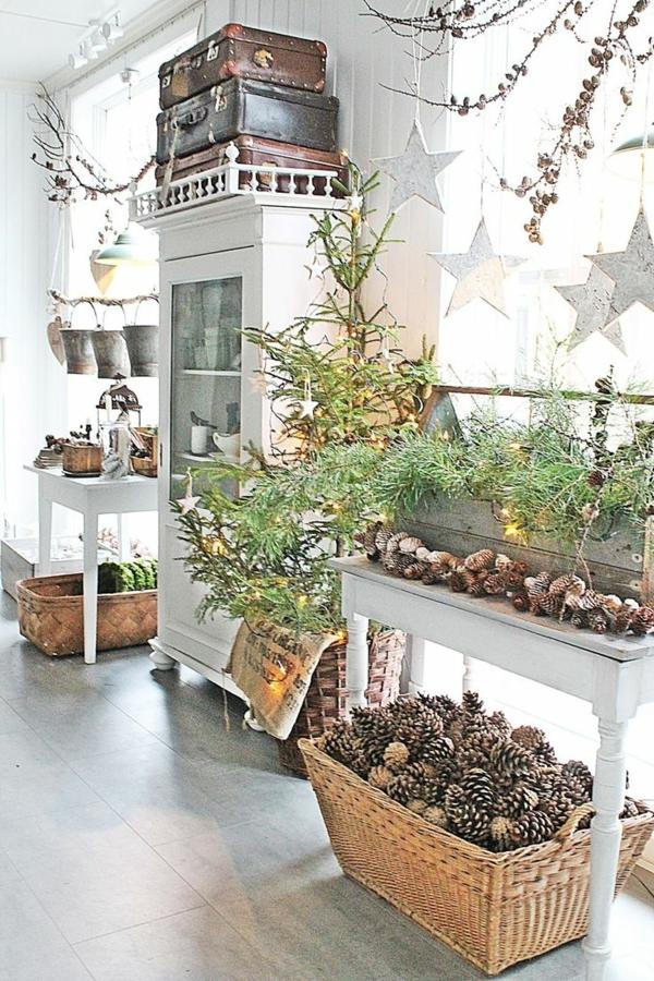 Rustic χωριάτικη Χριστουγεννιάτικη διακόσμηση34