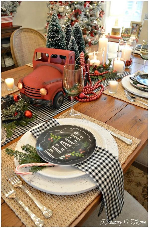 Rustic χωριάτικη Χριστουγεννιάτικη διακόσμηση4