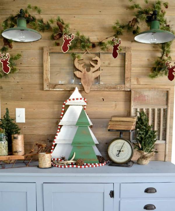 Rustic χωριάτικη Χριστουγεννιάτικη διακόσμηση41