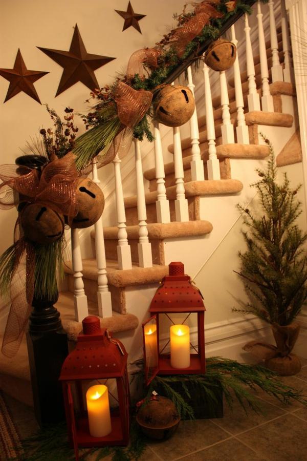 Rustic χωριάτικη Χριστουγεννιάτικη διακόσμηση42