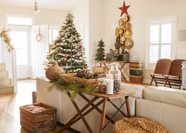 Rustic χωριάτικη Χριστουγεννιάτικη διακόσμηση45