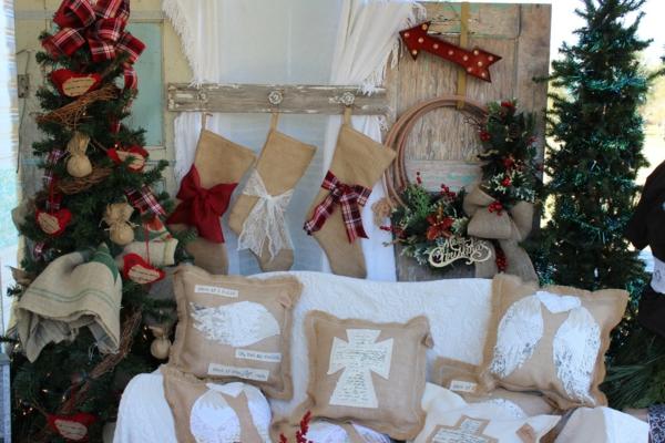 Rustic χωριάτικη Χριστουγεννιάτικη διακόσμηση46