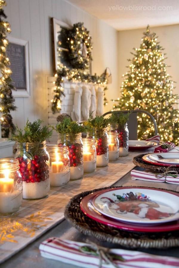 Rustic χωριάτικη Χριστουγεννιάτικη διακόσμηση6