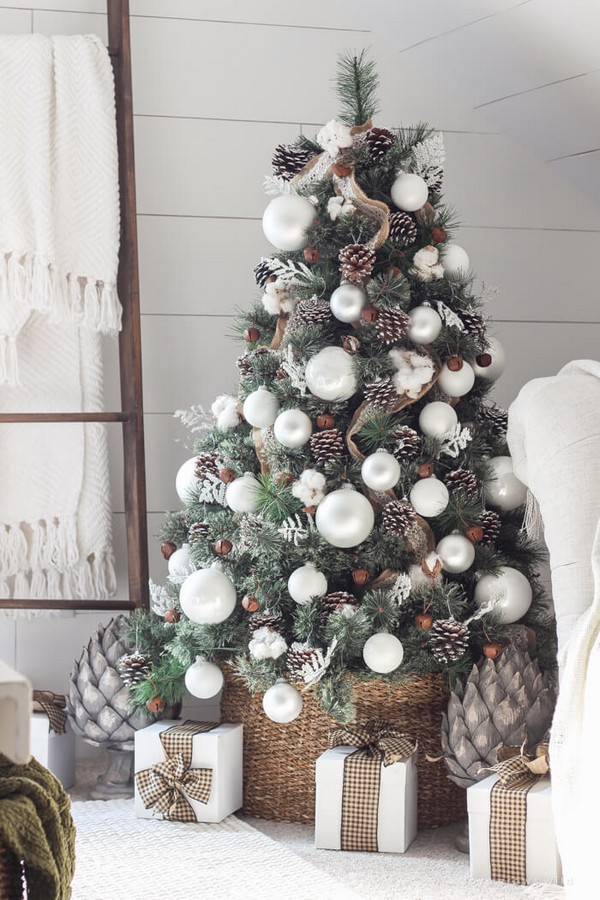 Rustic χωριάτικη Χριστουγεννιάτικη διακόσμηση8