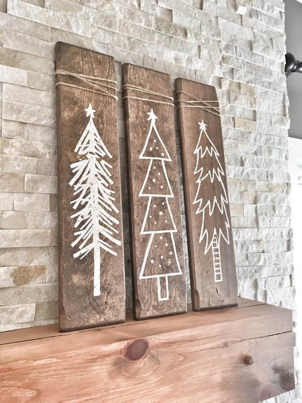 Rustic χωριάτικη Χριστουγεννιάτικη διακόσμηση9