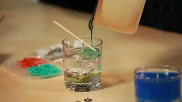 Διακοσμητικά κεριά gel14