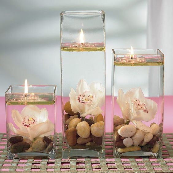 Διακοσμητικά κεριά gel22
