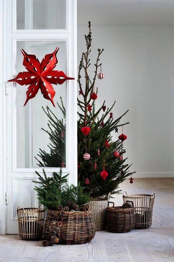 Ρουστίκ Χριστουγεννιάτικη διακόσμηση1
