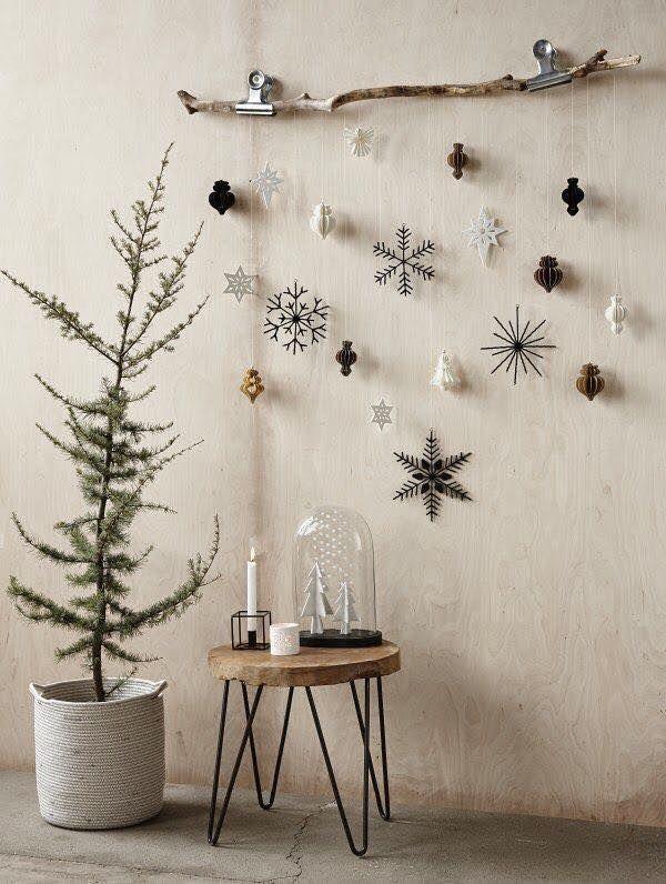 Ρουστίκ Χριστουγεννιάτικη διακόσμηση10