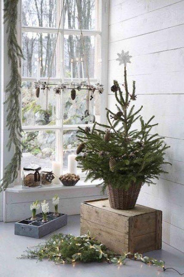 Ρουστίκ Χριστουγεννιάτικη διακόσμηση11