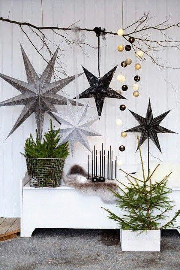 Ρουστίκ Χριστουγεννιάτικη διακόσμηση13