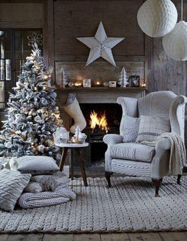 Ρουστίκ Χριστουγεννιάτικη διακόσμηση14