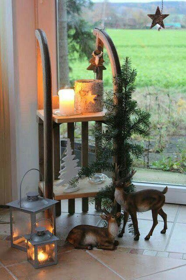 Ρουστίκ Χριστουγεννιάτικη διακόσμηση19