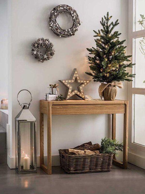 Ρουστίκ Χριστουγεννιάτικη διακόσμηση6