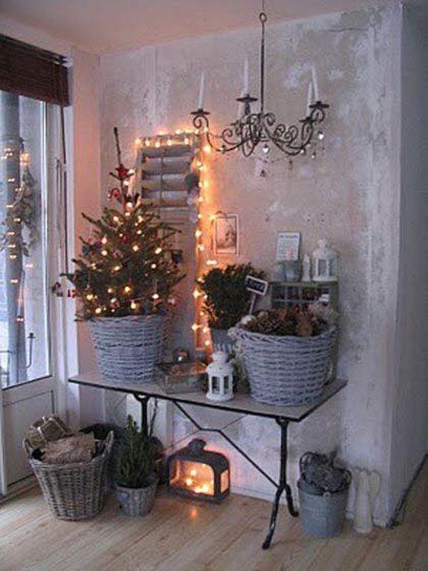 Ρουστίκ Χριστουγεννιάτικη διακόσμηση7