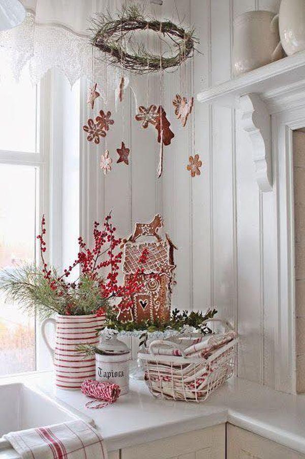 Ρουστίκ Χριστουγεννιάτικη διακόσμηση9