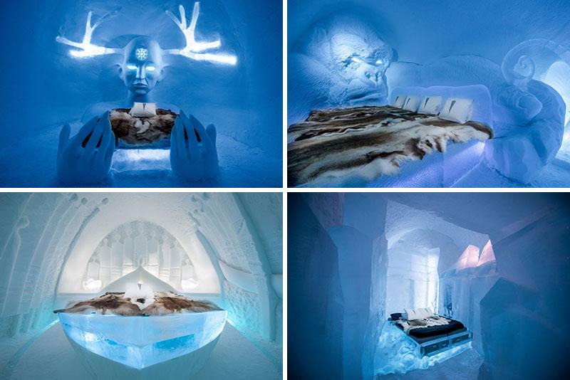 Το ξενοδοχείο του πάγου της Σουηδίας1