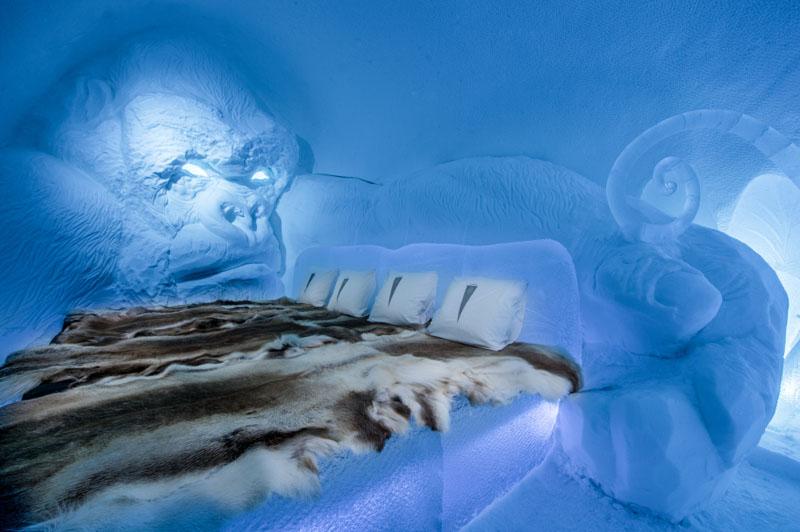 Το ξενοδοχείο του πάγου της Σουηδίας11
