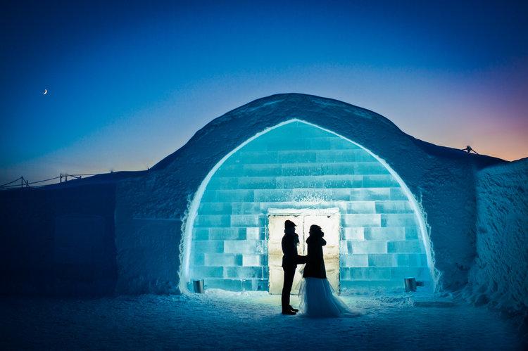 Το ξενοδοχείο του πάγου της Σουηδίας18