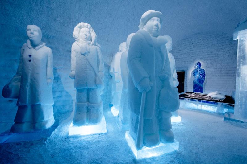 Το ξενοδοχείο του πάγου της Σουηδίας6