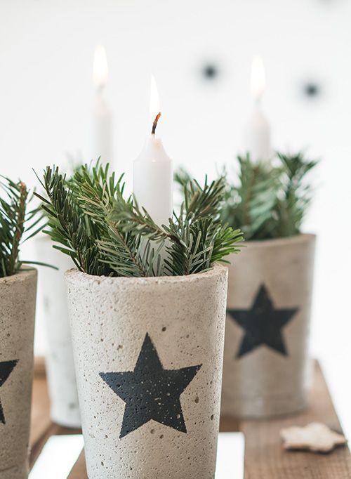 Χριστουγεννιάτικη διακόσμηση με κεριά13